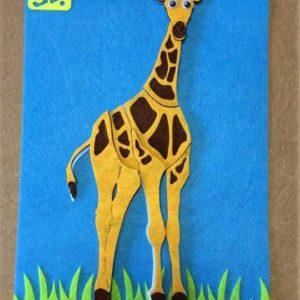 اختبرى مهارة طفلك وذكاءه واجعليه يحاول أن يرتب قطع البازل لتكوين صورة الزرافة لعبة مسلية للأطفال الأولاد والبنات تساعد على التركيز والإبداع