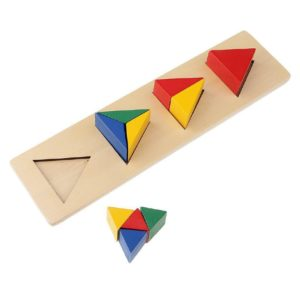 بازل شريط الاشكال الهندسية شكل مثلث