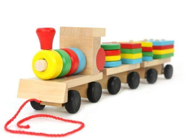 قطار الاشكال الهندسية