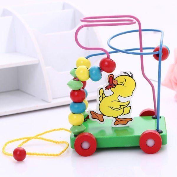 لعبة المتاهة الحلزونية تساعد الطفل على التركيز
