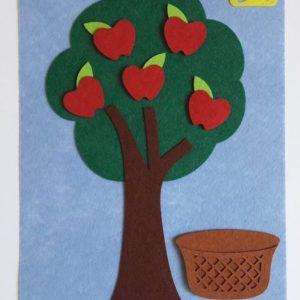 لعبة شجرة التفاح للأطفال الصغار