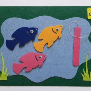 لعبة صيد السمك للأطفال