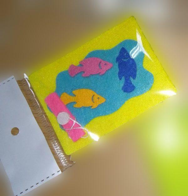لعبة صيد السمك مقاس صغير - ألعاب مسلية للاطفال