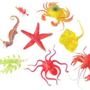 مجموعة مجسمات الكائنات البحرية