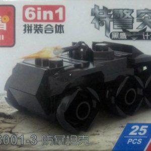 دبابة تركيب ليجو كود 6001-3