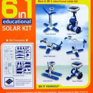 روبوت الطاقه الشمسية 6 فى 1
