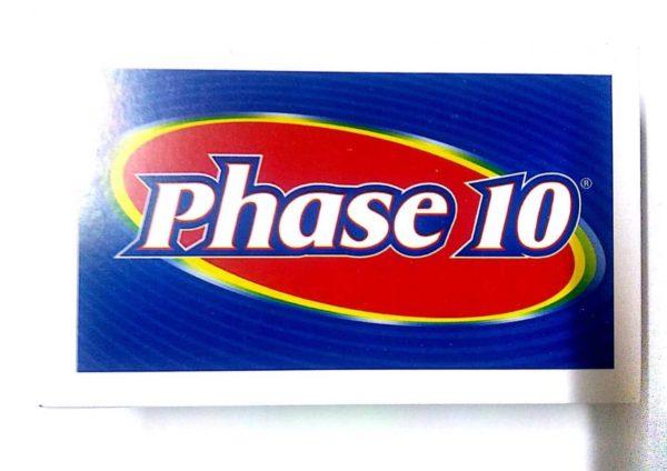 لعبة phase 10 - العاب تسلية