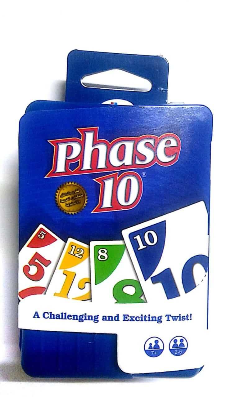 لعبة phase 10